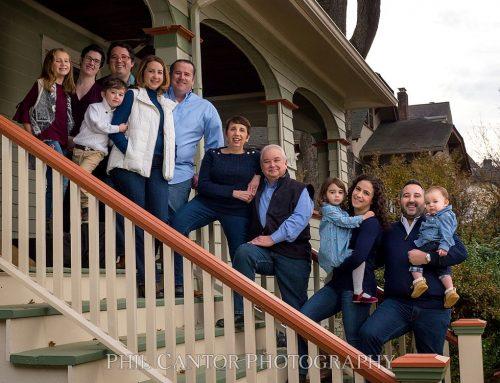Jameson Family Portrait | Steps make it work!