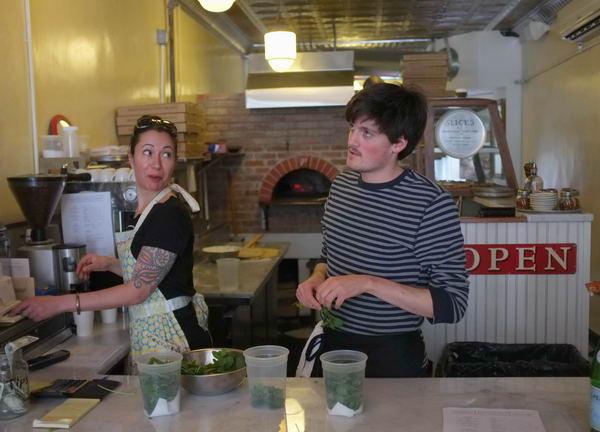 Mancinni's PIzza, Montclair