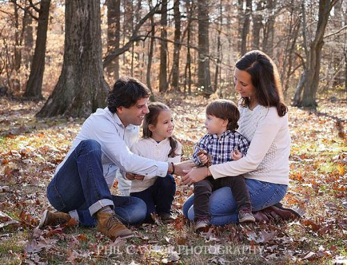2017's Fall Family Portraits in the Leaves!
