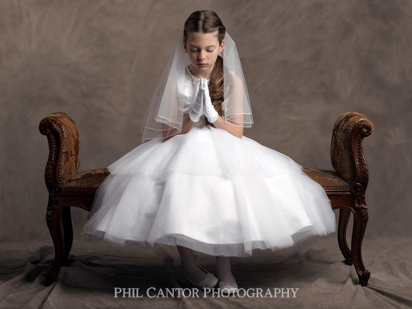 First Communion Pictures | Phil Cantor Photography