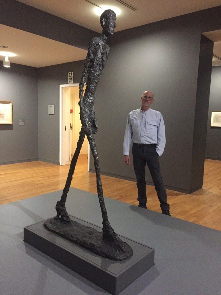 Giacometti walking man