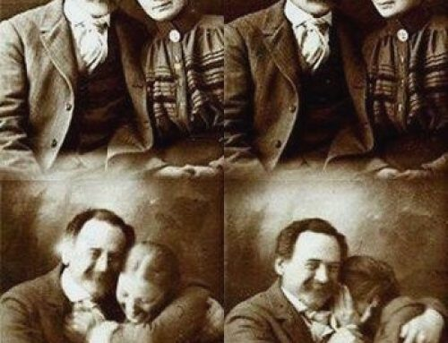 Why people didn't smile in olden days.