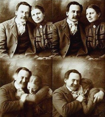 Why people don't smile in old photos