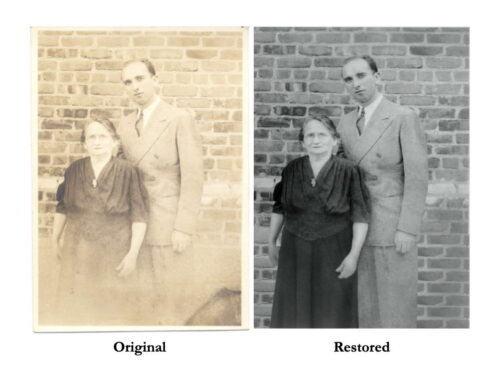 Phil Cantor Photography is now offering a new service: Photo Restoration!