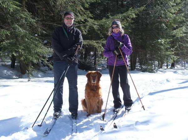 XC Skiing with Roxy